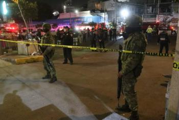 Controlan incendio en Alcaldía Benito Juárez