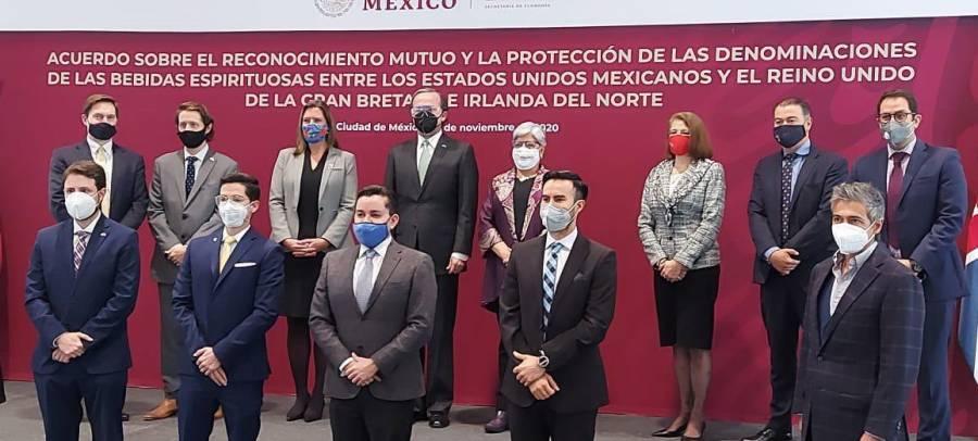 Acuerdan México, Gran Bretaña e Irlanda proteger bebidas con denominación de origen