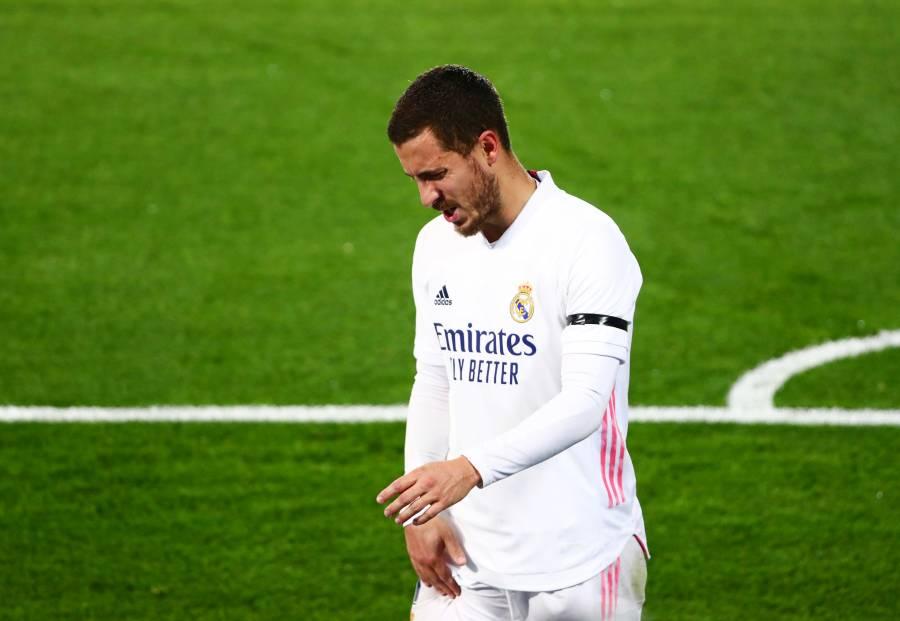 De nuevo, el Real Madrid pierde a Hazard por lesión