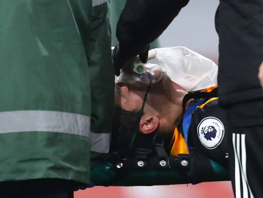 Raúl Jiménez, operado con éxito tras fractura de cráneo