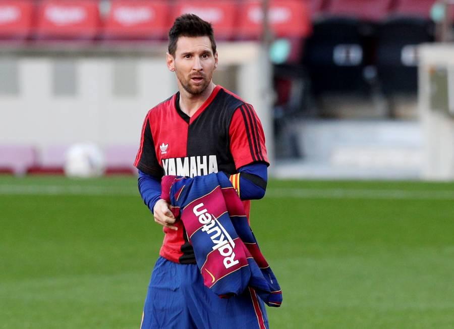 Por homenaje de Messi a Maradona, Barcelona será castigado