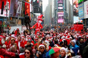 Fiesta de Año Nuevo de Times Square será virtual