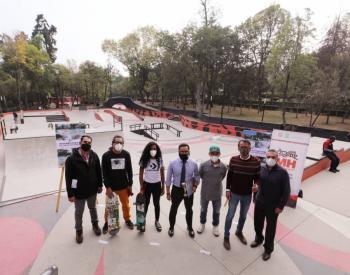 Alcaldía Miguel Hidalgo entrega Skate Park en Parque Lira