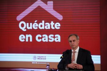 México reporta un millón 113 mil 543 casos de Covid-19 y 105 mil 940 fallecidos