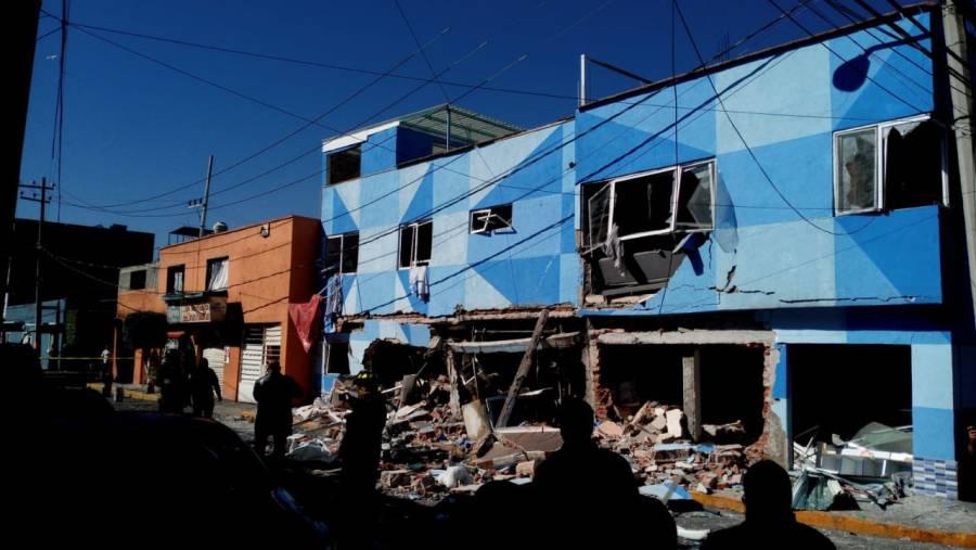 Video: Así fue la explosión en restaurante de la alcaldía Azcapotzalco