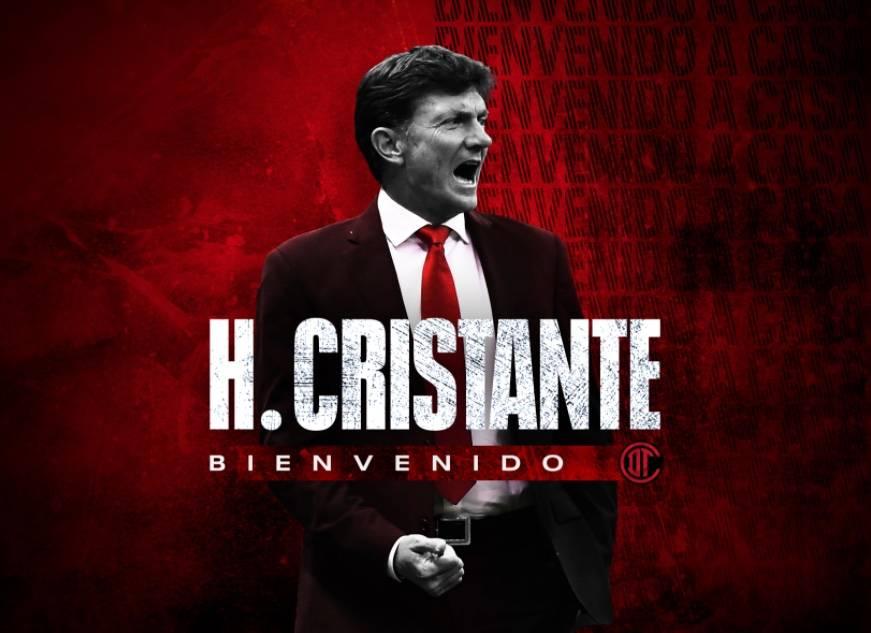 Oficial: Hernán Cristante regresa como DT del Toluca