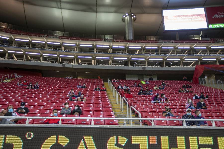 Si llegan a la final, Chivas tendría publico en su estadio