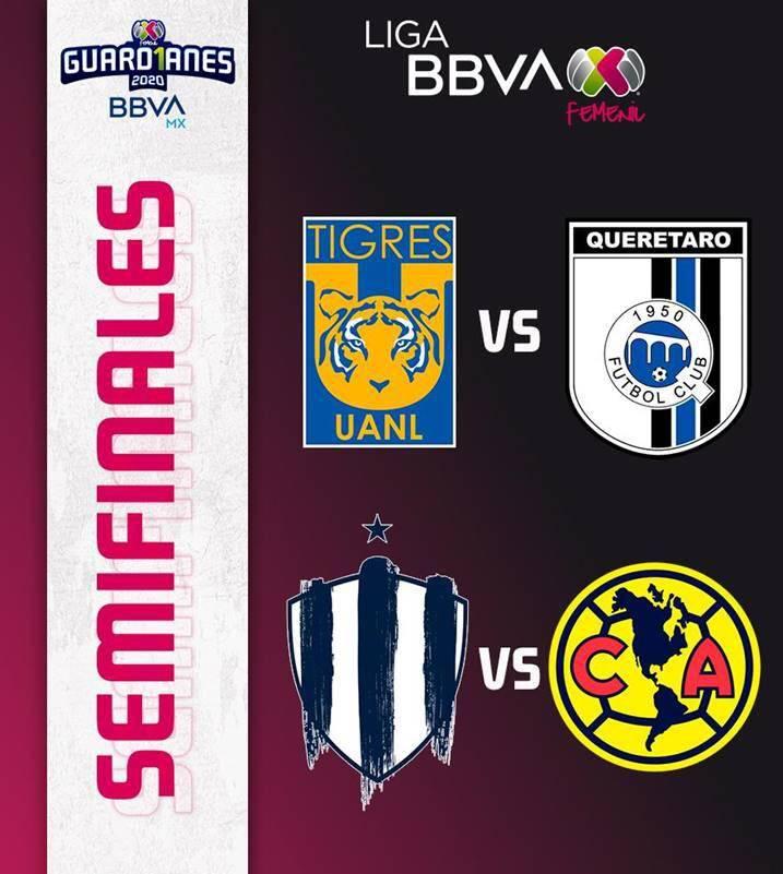 Así quedaron definidas las semifinales de la Liga MX Femenil