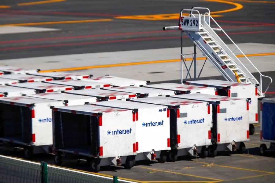Adeuda Interjet 1,200 mdp de turbosina, y cancela vuelos