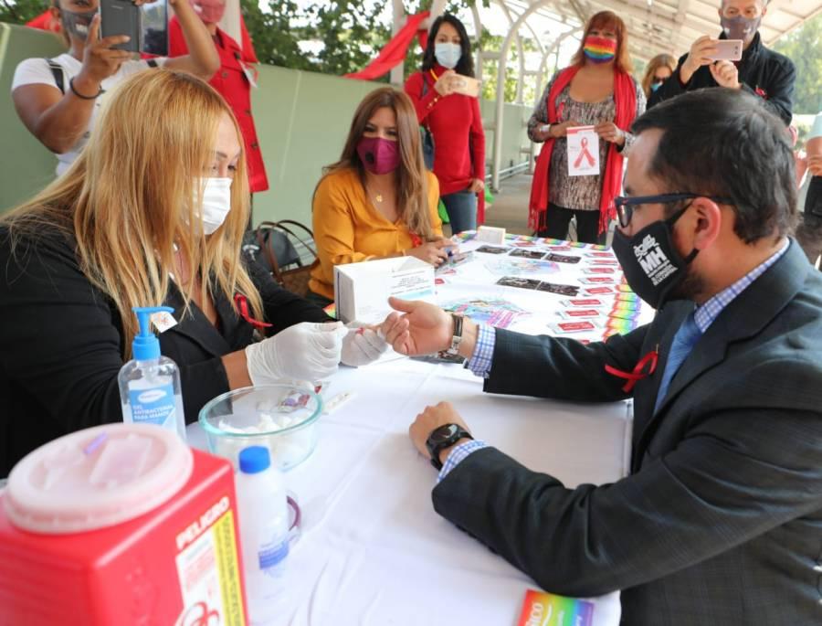 Alcaldía Miguel Hidalgo realiza jornada de detección y prevención de VIH/SIDA