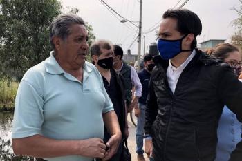 Denuncian obras inconclusas en planta tratadora de agua en Xochimilco