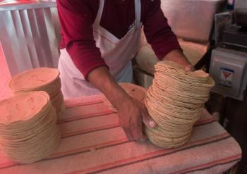 Llama AMLO a mantener precio de tortillas