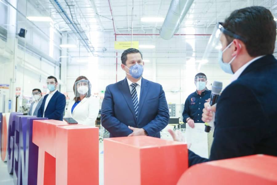 Más de 60 empresas extranjeras invierten en Guanajuato por su conectividad