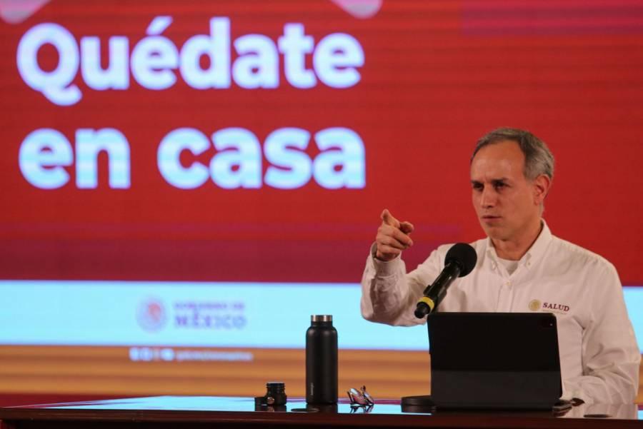 México reporta un millón 133 mil 613 casos de Covid-19 y 107 mil 565 fallecidos