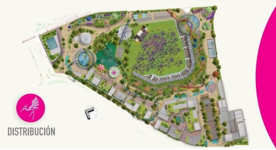 Estas son las atracciones de Aztlán, parque que sustituirá a la Feria de Chapultepec