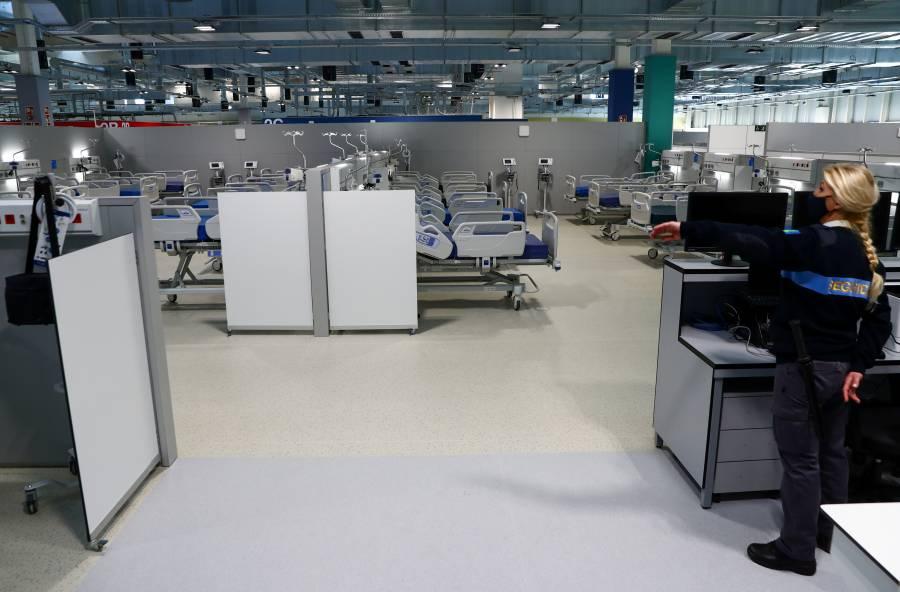 """Inauguran en Madrid """"el hospital de pandemias"""""""