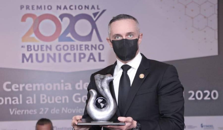 Premian a Cuajimalpa por excelencia en seguridad municipal