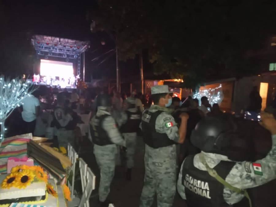 Autoridades suspenden fiesta de XV Años en Acapulco por incumplir medidas sanitarias