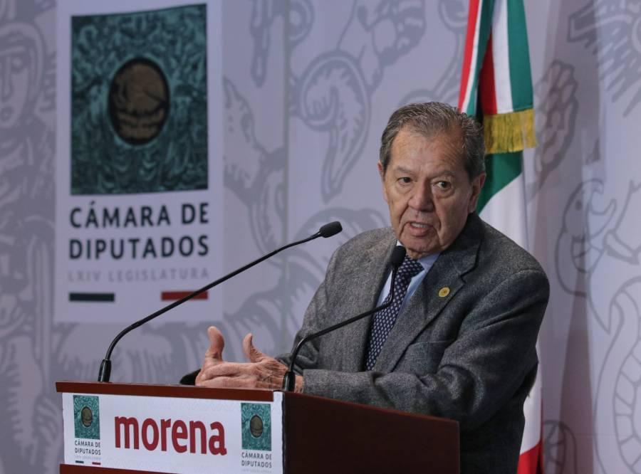 Ampliar investigación contra presidente del TEPJF, petición de Muñoz Ledo a la UIF