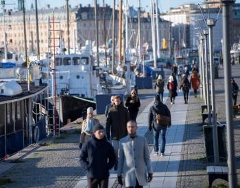 Suecia reitera que no necesita imponer uso de mascarillas