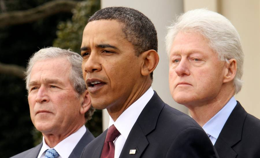 Obama, Bush y Clinton ofrecen hacer campaña por la inmunización