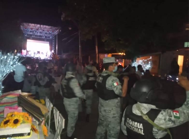Pese al COVID-19, celebran fiesta de XV años con 500 invitados en Acapulco