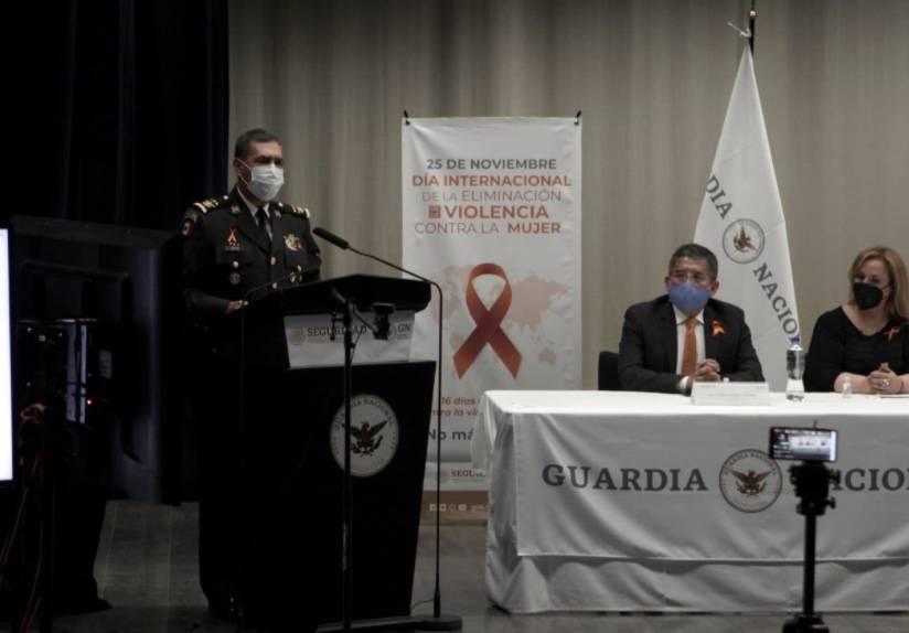 Impulsa Guardia Nacional acciones para eliminar violencia contra las mujeres