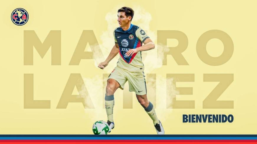 Mauro Lainez, nuevo jugador del América