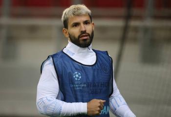 Aguero podría perderse el partido del City ante Fulham, dice DT