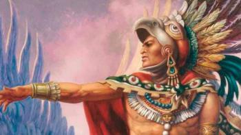 Conmemoran a Cuitláhuac en Iztapalapa por 500 aniversario luctoso