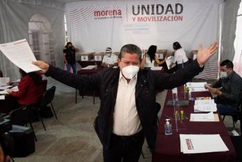 David Monreal como precandidato de Morena por Zacatecas
