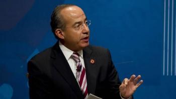 Felipe Calderon reveló que tuvo la cabeza de Aristegui durante su gobierno