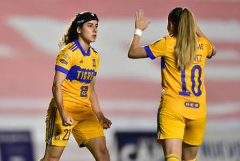 Tigres se impone a Querétaro en la semifinal de ida de la Liga MX Femenil