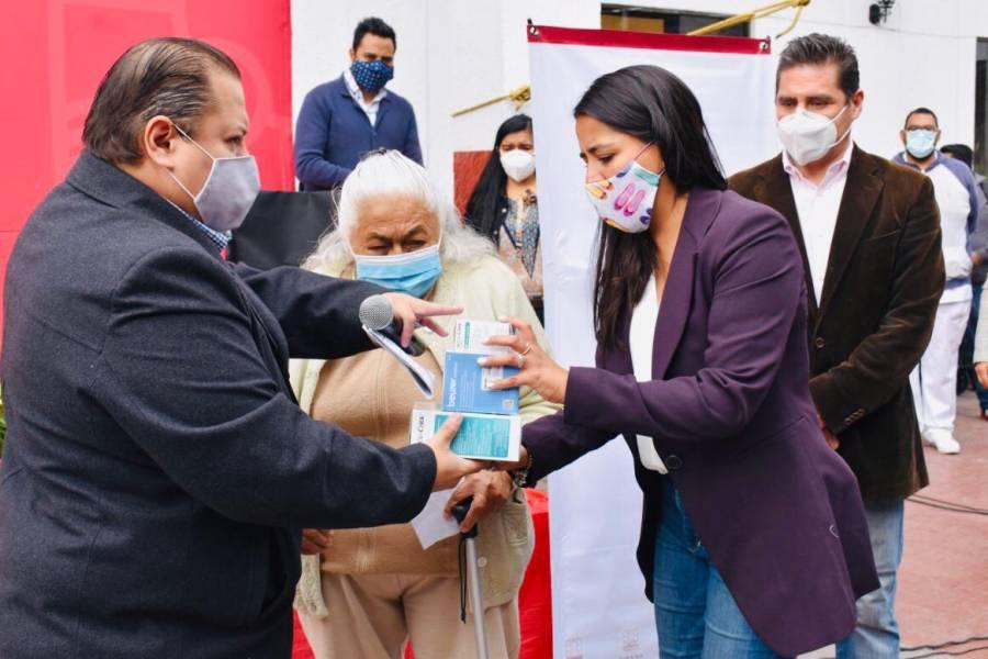 Envían aparatos médicos y motrices a personas con discapacidad en Magdalena Contreras