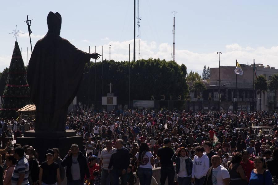 Comerciantes prevén hasta un 80% en pérdidas por cierre de la Basílica de Guadalupe