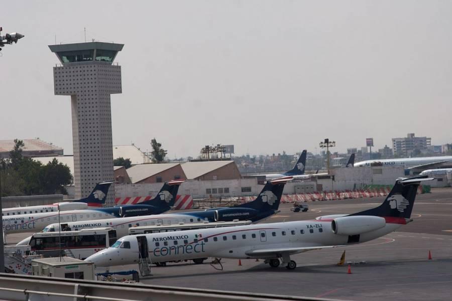 Aeroméxico transportó 6.5% más pasajeros en noviembre