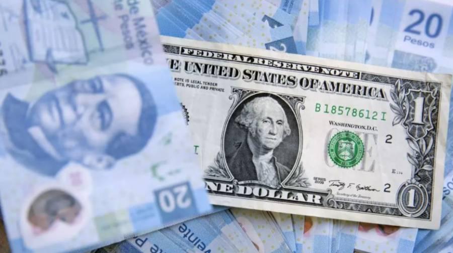 Peso cae tras tocar mejor nivel desde marzo; cotiza en 19.85 por dólar