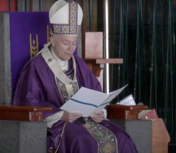 Llama Arquidiócesis a feligreses a quedarse en casa