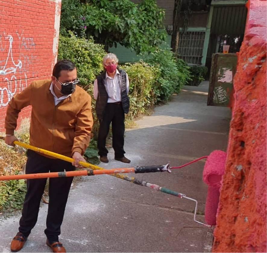 Recuperación de espacios públicos en la alcaldía de Azcapotzalco
