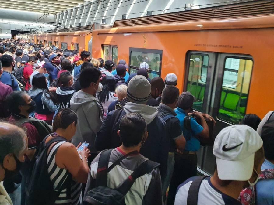 CDMX: Al límite el metro y Semáforo epidemiológico