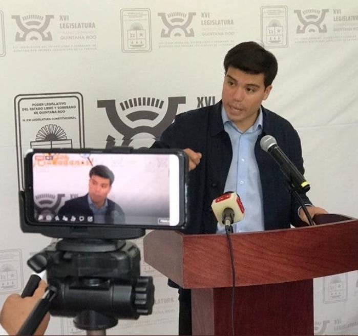 Diputado del PVEM en Quintana Roo, presenta denuncia ante FGR por narcomensaje