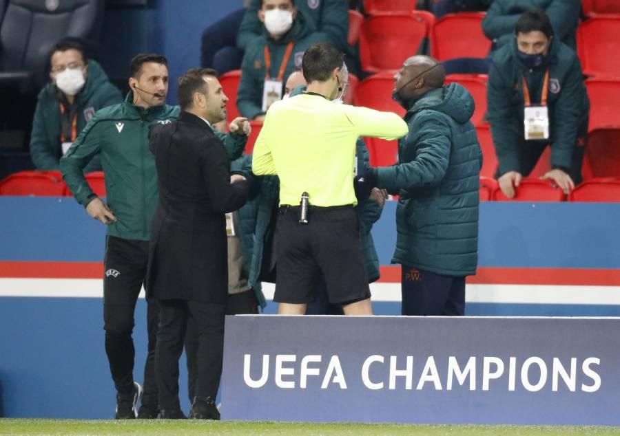 Por comentario racista, suspenden el PSG vs Istanbul