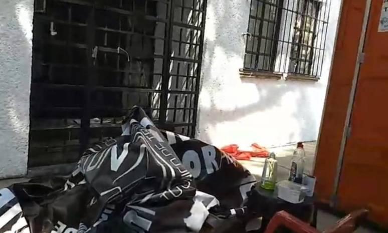 SutNotimex denuncia agresión a plantón de trabajadores en Coyoacán