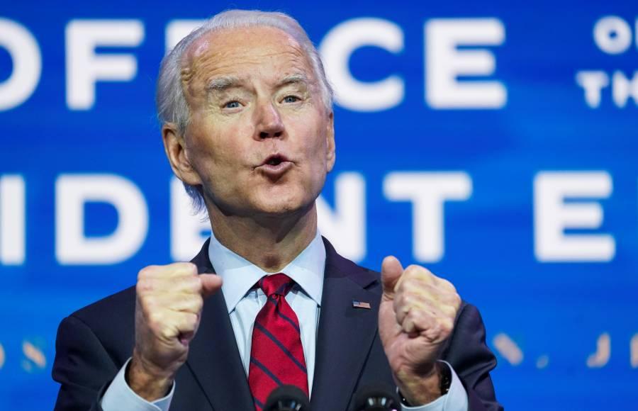 100 millones de vacunas contra Covid en los primeros 100 días como presidente, promete Biden
