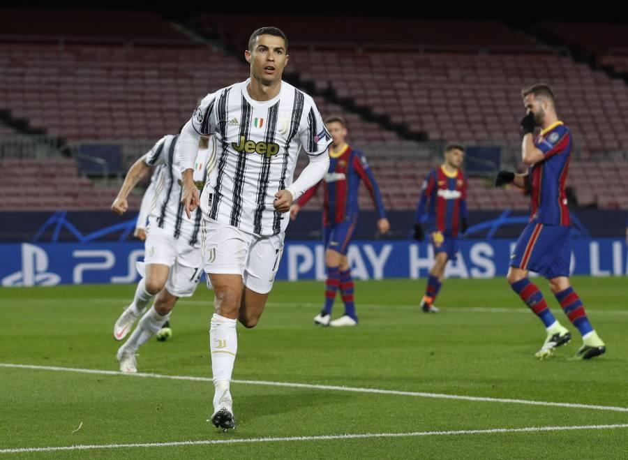 Juventus golea al Barcelona con doblete de Cristiano Ronaldo