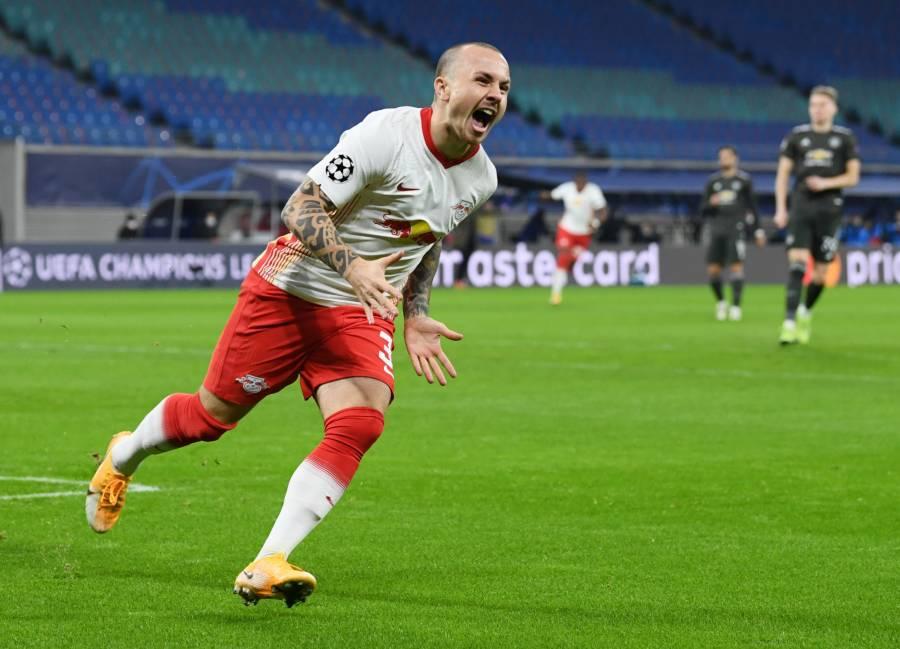 El Leipzig elimina al Manchester United y lo manda a la Europa League