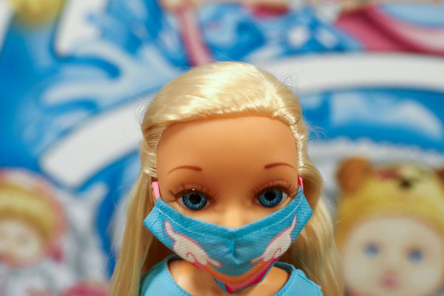 El coronavirus inspira los juguetes de Navidad