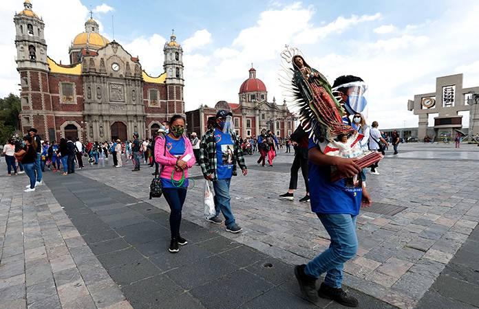 Reporta alcaldía Gustavo A. Madero arribo de más de 15 mil feligreses al templo mariano