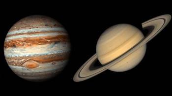 """La """"conjunción"""" de Júpiter y Saturno que se verá este diciembre y no ocurría desde la Edad Media"""