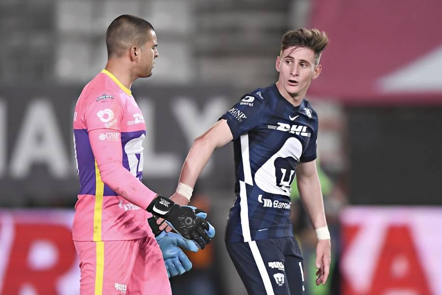 Facundo Waller será baja con Pumas por lesión; no jugará la final ante León